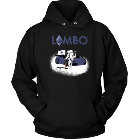 Ethereum Lambo Moon Man Hoodie - King Kong Crypto™