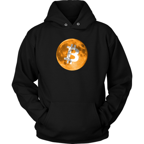 Bitcoin Full Moon Hoodie - King Kong Crypto™