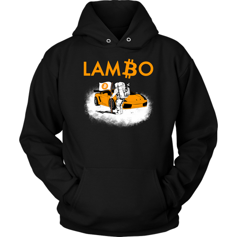 Bitcoin Lambo Moon Man Hoodie - King Kong Crypto™