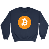 Bitcoin Logo Sweatshirt - King Kong Crypto™