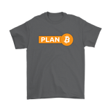 Bitcoin Plan B T-Shirt - King Kong Crypto™