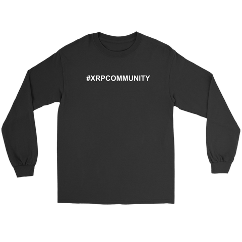 XRP Hashtag XRP Community Long Sleeve Shirt - King Kong Crypto™