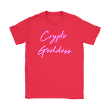 The Crypto Goddess | Neon Glow T-Shirt - King Kong Crypto™