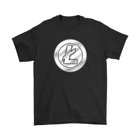 Litecoin Metallic Coin T-Shirt - King Kong Crypto™