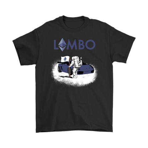 Ethereum Lambo Moon Man T-Shirt - King Kong Crypto™