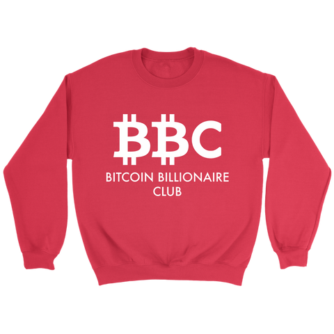 Bitcoin Billionaire Club Sweatshirt - King Kong Crypto™