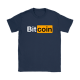 Bitcoin Hub Womens Slim Fit T-Shirt - King Kong Crypto™