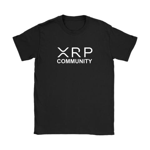 XRP Community Slim Fit Womens T-Shirt - King Kong Crypto™