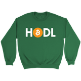 Bitcoin HODL Sweatshirt - King Kong Crypto™
