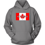 Ripple XRP Canadian Flag Hoodie - King Kong Crypto™