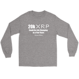 20k XRP Vincent Wilson Long Sleeve Shirt - King Kong Crypto™