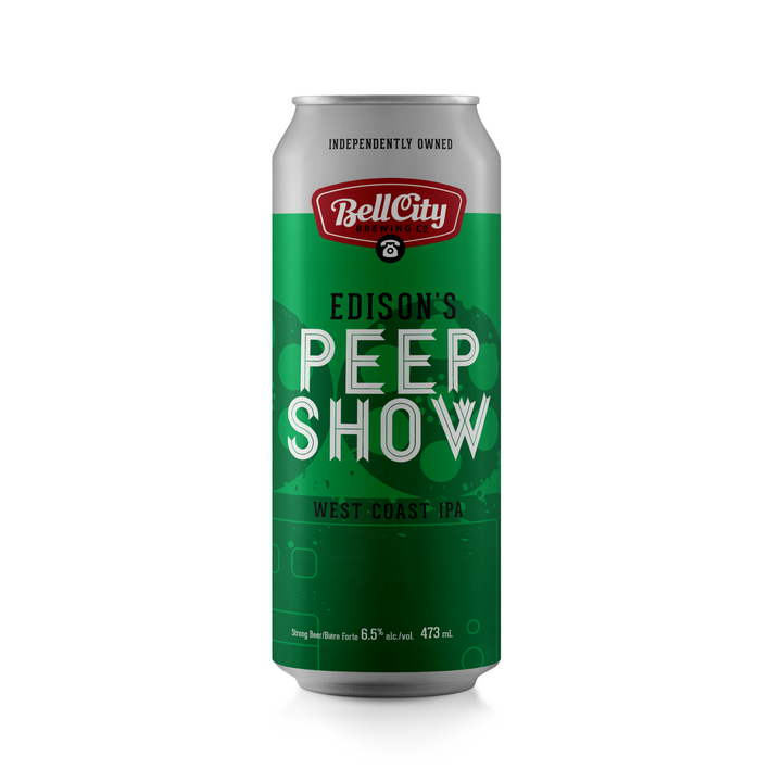 Edison's Peep Show - West Coast IPA - 473ml Can