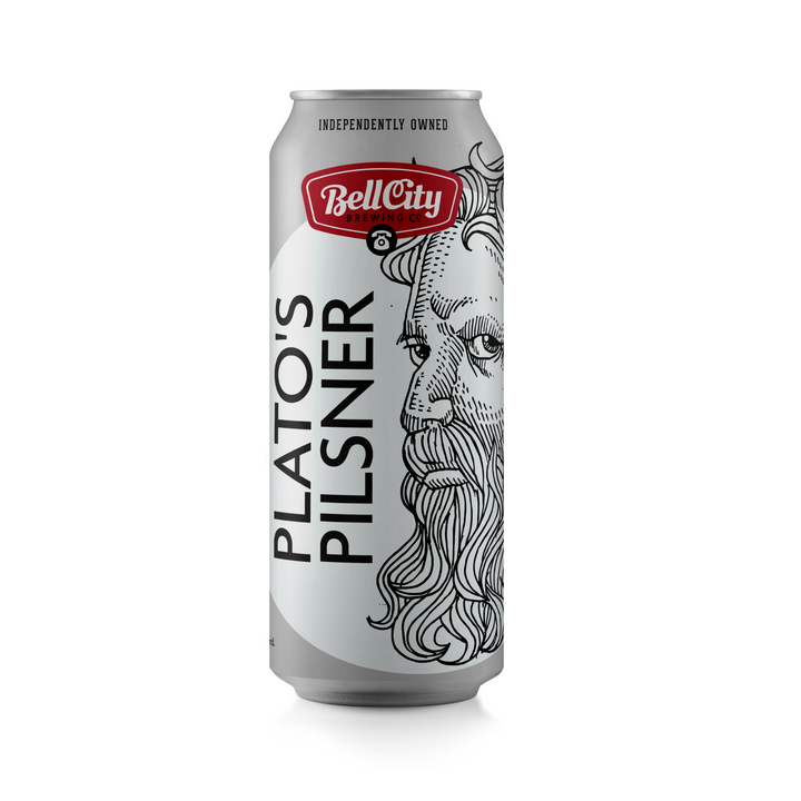 Plato's Pilsner - German Pilsner - 473 ml can