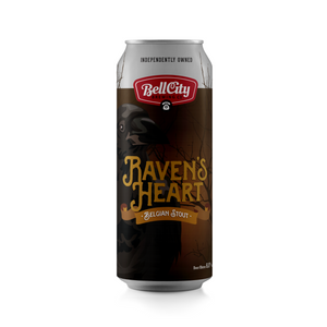 Raven's Heart - Belgian Stout - 473ml Can