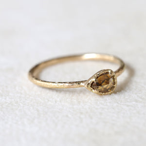 0.32ct whisky diamond  ring