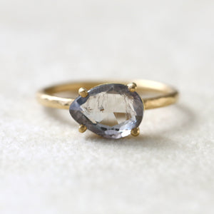 2.16ct pale blue Sapphire Ring