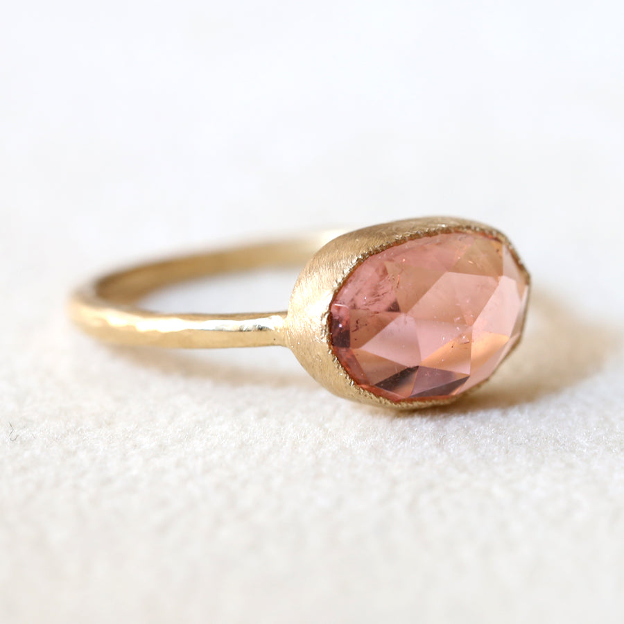 2.03ct pink Tourmaline Ring