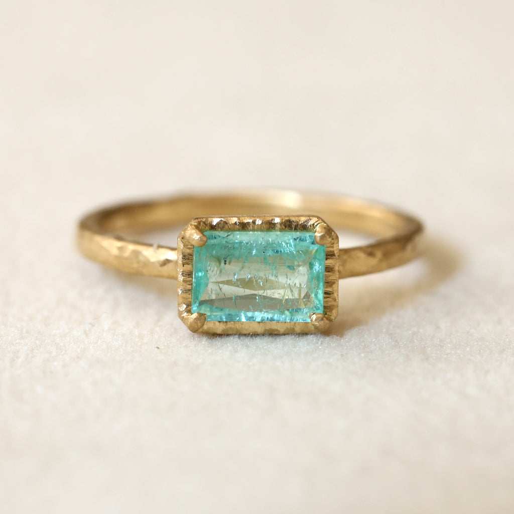 0.79ct Paraiba Tourmaline Ring