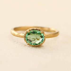 0.82ct Paraiba Tourmaline Ring