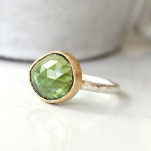 4.26 Green Tourmaline Ring