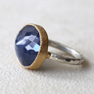 11.46ct Tanzanite Ring