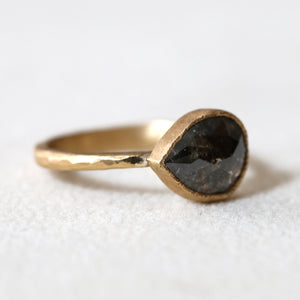 1.52ct black diamond ring