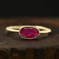 0.54ct Ruby Ring