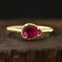 0.57ct Ruby Ring