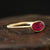 0.59ct Ruby Ring