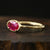 0.72ct Ruby Ring