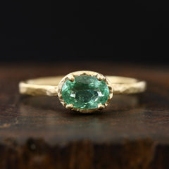 0.67ct Paraiba Tourmaline Ring