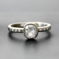 0.83ct Icy diamond ring