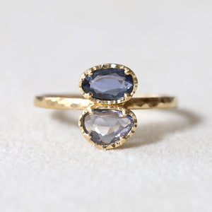 0.84ct sapphire ring
