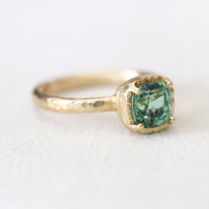 1.53ct Mint Tourmaline Ring