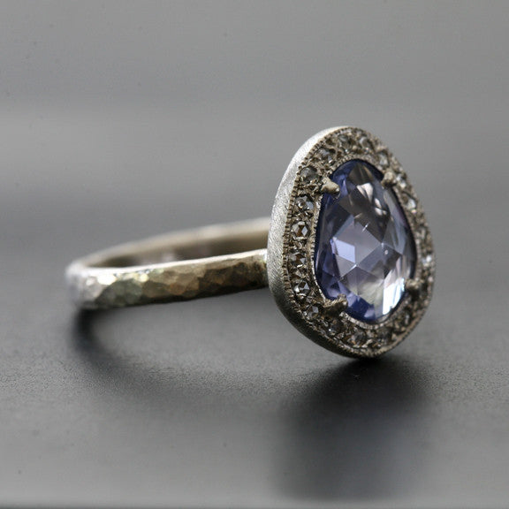 1.43ct Unheated natural blue sapphire Ring