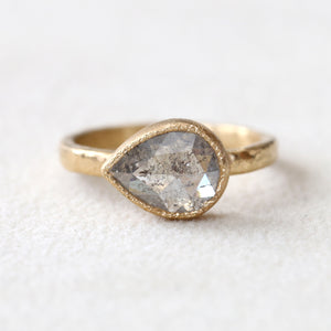 1.81ct grey diamond ring