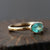 0.70ct Paraiba Tourmaline Ring
