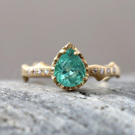 0.95ct Paraiba Tourmaline Ring
