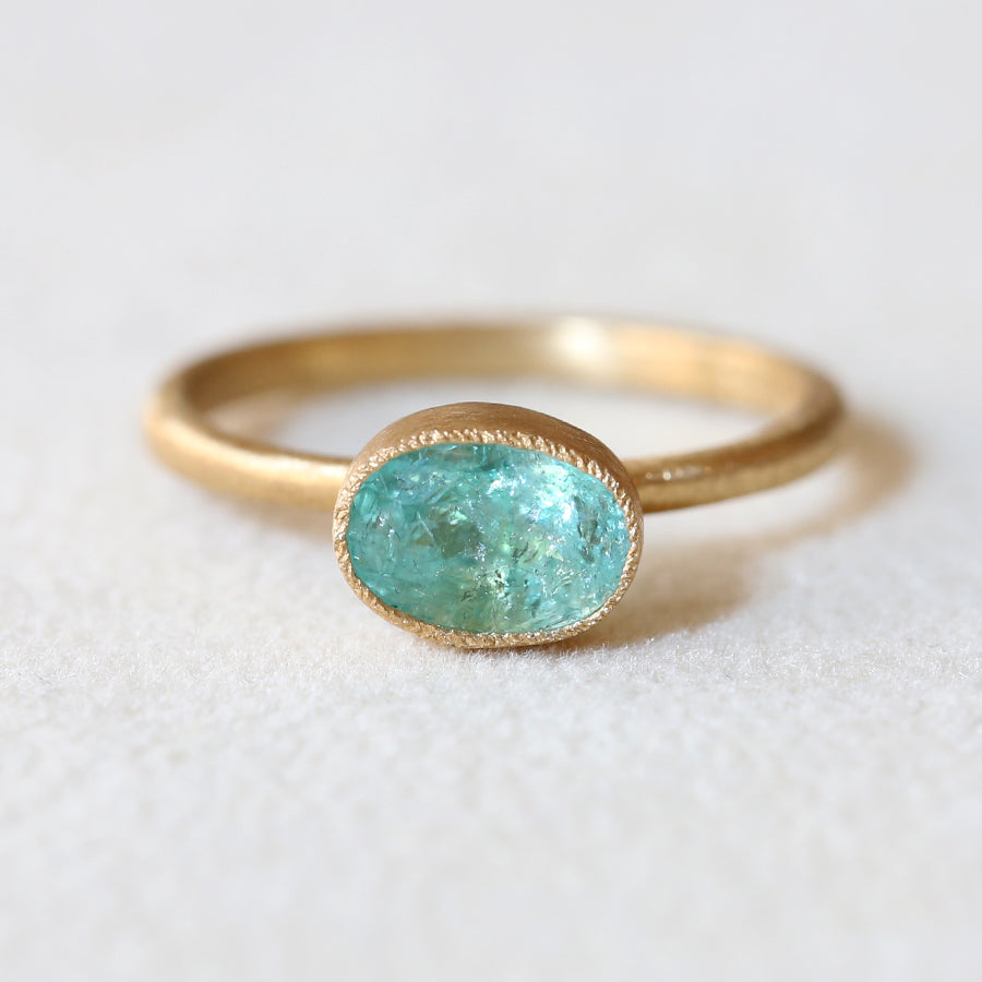 1.18ct Paraiba Tourmaline Ring
