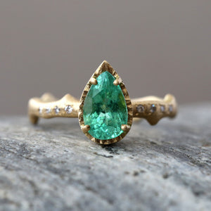 1.19ct Paraiba Tourmaline Ring