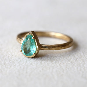 0.59ct Paraiba Tourmaline Ring