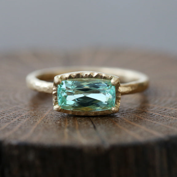 1.52ct Paraiba Tourmaline Ring