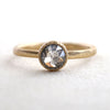 0.83ct Salt &Pepper diamond ring