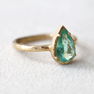 0.97ct Paraiba Tourmaline Ring