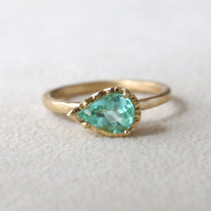 1.34ct  Paraiba Tourmaline Ring
