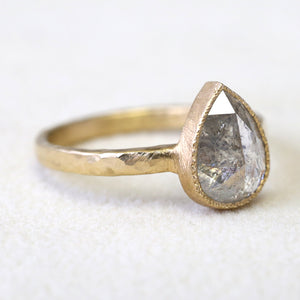 1.88ct grey diamond ring