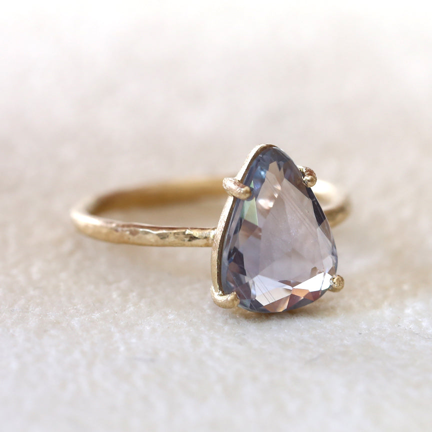 3.14ct Blue Sapphire Ring