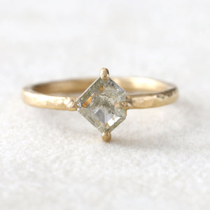 0.65ctct grey diamond ring