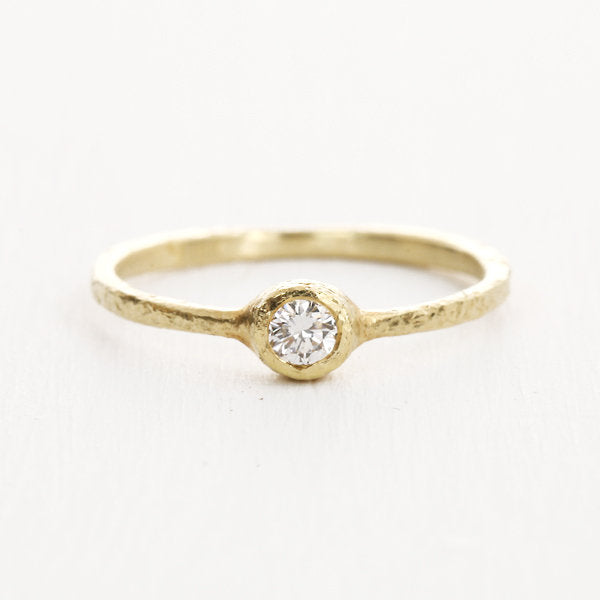 3mm diamond ring