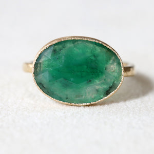 3.43ct Emerald Ring